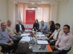 جلسه دپارتمان ادبیات فارسی در سیمیا