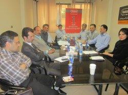 جلسه دپارتمان MBA در سیمیا