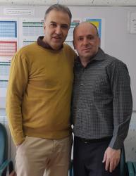 با کوروش امامی دبیر فیزیک